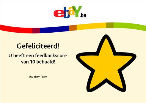 eBay Gele Ster