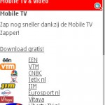 Mobile TV via Live!