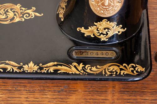 Oude singer naaimachine serienummer