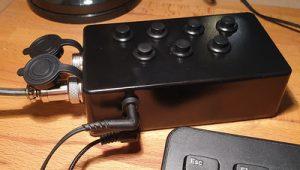 Icom IC-7300 External Keyboard
