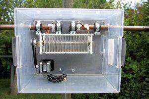 Magnetic Loop – Capacitor Box