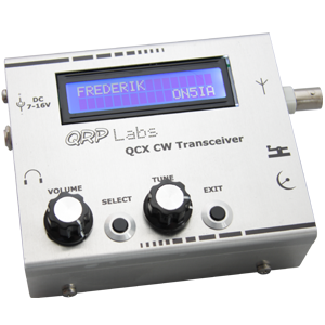 QRP Labs QCX – Putting It All Together