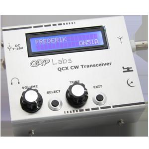 QRP Labs QCX – BaMaTech Enclosure