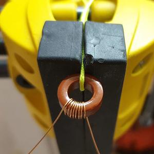 QRP Labs QCX – Winding The Toroid