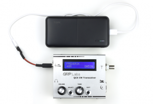 QRP Labs QCX – Power Supply: TOPK 20000mAh Power Bank