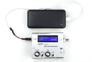 QRP Labs QCX – Power Supply: TOPK 20000mAh Power Bank