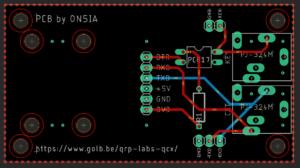 QRP Labs QCX – CAT & Key Interface Design